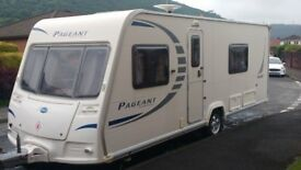 Baily pageant sancerre four berth 2010 fixed bed end bathroom full service history