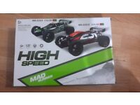 Remote Control Speed Car - Green-Box opened item never used. Double up birthday present.