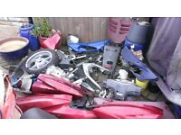 honda dylan 125 ses 125 job lot of parts all you can see £100 and any more i can find