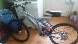 Silverfox boys bike