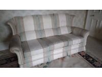 3-piece suite (sofa and two armchairs)