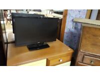 """Logik 24"""" LED TV with Built-in DVD Player & Freevieew"""