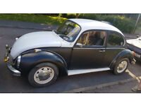 1973 VW BEETLE 1303S, 1600CC MOT AND TAX EXEMPT