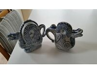 CHINESE DRAGON TEAPOTS