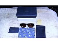 Slazenger Black Sunglasses - In Blue Presentation Box..