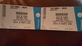 Isle of White Festival Tickets x2 8th-11th June