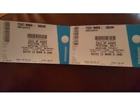 Isle of White Festival Tickets x2 8th-11th June