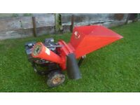 Allen chipper/shredder with large 8hp engine (not a Chinese engine) cost £1000