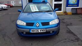 Renault megane reduced to £1295 can come with a 3 months warranty