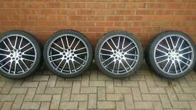 """17"""" WR alloy wheels with tyres"""