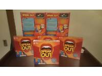SPEAK OUT GAME - BRAND NEW & SEALED - GENUINE UK HASBRO STOCK