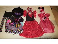Girls age 2-3 dressing up clothes and shoes