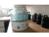 Tefal 3 tier electric steamer
