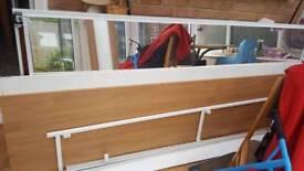 Full set 2 mirror slide door