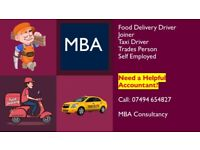 Self Employed? Trader? Uber/Just Eat driver? Taxi or Joiner? Need an Accountant?