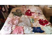 0-6 months baby girl bundle
