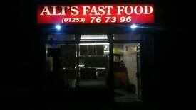 Fastfood takeaway for sale