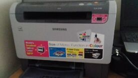 Samsung Printer CLX-2160 with refills. £40 on. Buyer to collect or will deliver locally for £5.