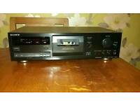 3-head Sony cassette deck, Dolby S, HX-Pro with box/manual