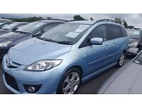 Mazda5 2.0 D Sport 5dr diesel/ coded car connect to international security