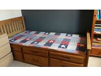 Cabin Bed Solid Wooden