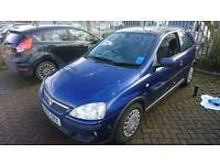 Vauxhall Corsa sxi 1.2 twin port 55 plate A/C 11 months MOT