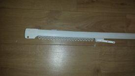 Swish corded curtain rail - 101 inches long