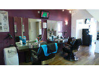 Barbers Shop for sale on the outskirts of Bolton town centre, Lancashire - fully furnished.