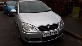 VW Polo 1.4 Petrol, 3dr, 55 reg, long road tax, lovely car for first time drivers