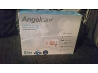 Ex display angel care video and sound baby monitors
