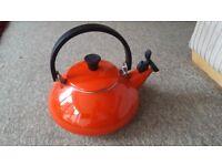 Le creuset whistling kettle