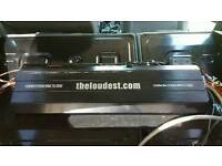 Theloudest 8000w competition amp