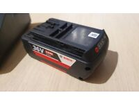 Bosch 36v 2Ah battery. Brand new