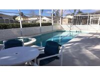 Florida Villa for Rental - 4 Bedrooms, Private Pool, Games Room, Gated Community, Close to Disney