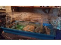 Large rabbit cage and small cage for sale