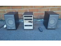 Philips mini system (Radio, CD, Tape) with remote control