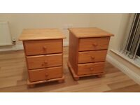 Pone bed side cabinets (PAIR)