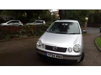VW Polo 1.2l 54 plate 3dr Silver LOW MILEAGE