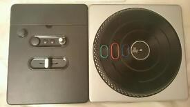 FREE! - Wii DJ Hero game + turntable