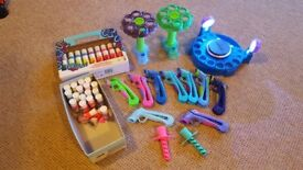 Doh Vinci Play Dough Set with Stand and LED Lights
