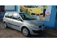 Renault Grand Scenic 1.6 VVT Petrol, 7 Seater, low miles, 12 months MOT, Cheap Reliable Car