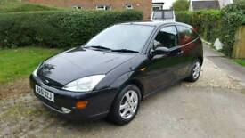 Ford focus 1.6 ltd edition new mot swap only