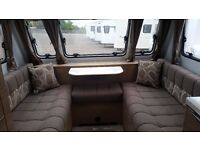 Adria Adora 432 Loire Touring Caravan (2014) 2 berth End Washroom. Perfect for couples