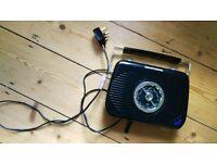 Digital black radio