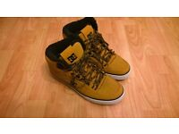 NEW DC Spartan High WNT Wheat/Black Size 9 fit 8