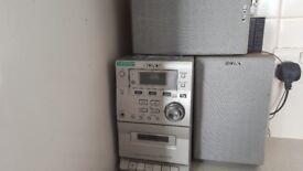 Sony midi hi fi stereo radio cd cassette