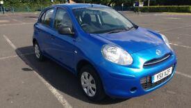 2011 Nissan Micra 1.2 VISIA *VERY LOW MILEAGE!!* 5 Door Manual Petrol