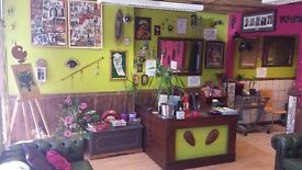 Busy Tattoo Studio for sale! low rent, great location. Available end of June.