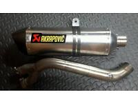 Akrapovic exhaust for cb1000r