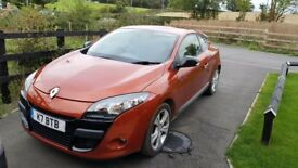 Renault megane coupe i music 2010 low miles